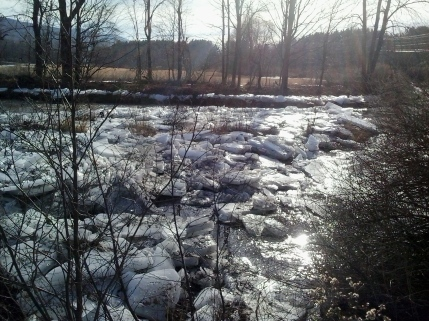 North Branch thaw begins