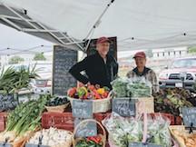 sharon & matt at market